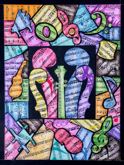 Missouri Symphony Society (MOSS) Conservatory Junior Sinfonia Collaborative Artwork